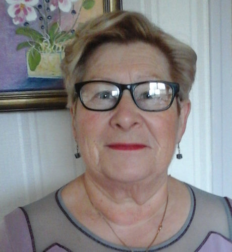 Marie Pierre COLLIN retraité, présidente association de bénévoles en EHPAD